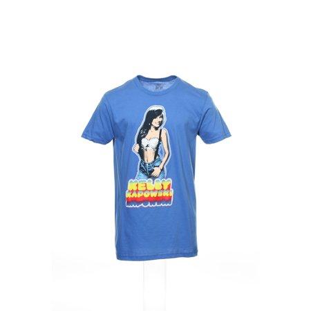 Kelly Kapowski Shirt (Ripple Junction Kelly Kapowski Saved by The Bell Men's T-Shirt (Medium,)