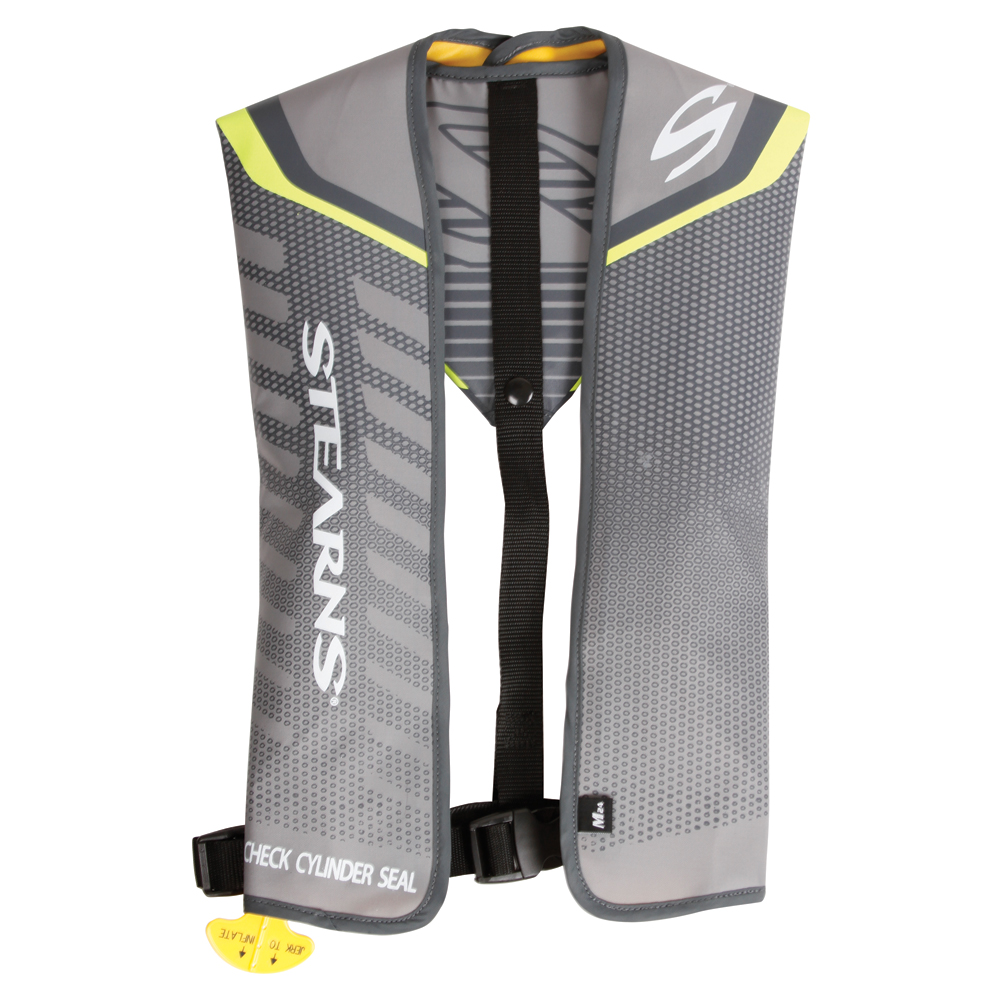 STEARNS FASTPAK 24G MANUAL INFLATABLE LIFE VEST YELLOW