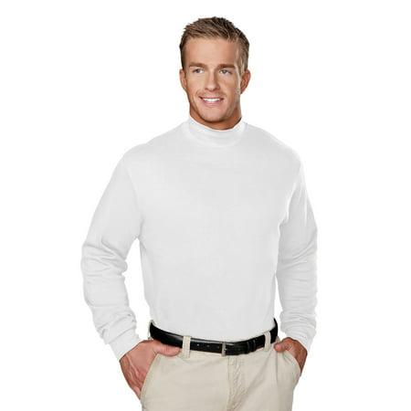 93813e75ca7 TM - TM Cotton Interlock Mock Turtleneck. - Walmart.com