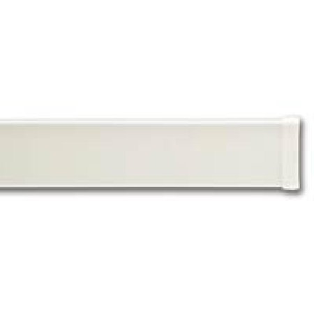 Graber 2 1/2-Inch Spring Tension Dauphine Curtain Rod, 33 to 50-Inch Adjustable Width, White