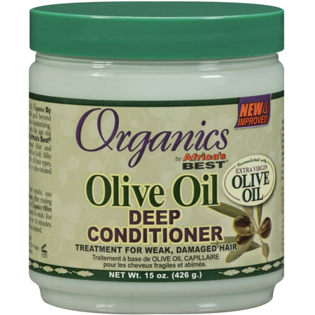 2 Pack - Africa's Best Organics Olive Oil Deep Conditioner 15