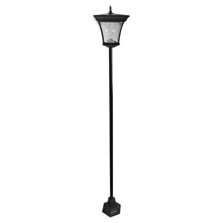 Elegant Home Fashions HN20277 Solar Garden Lamp Post](Lamp Post Decorations)