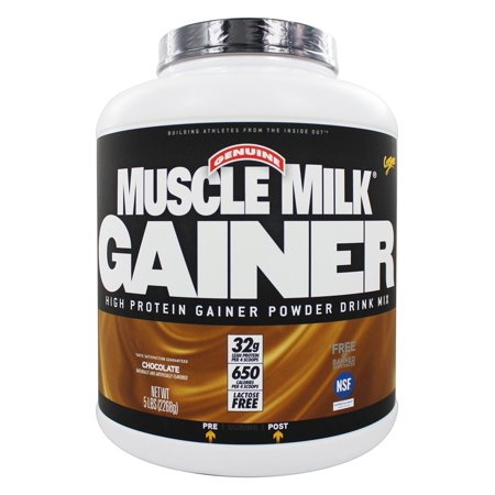 Cytosport - Muscle Milk Genuine High Protein Gainer Powder Drink Mix Chocolate - 5