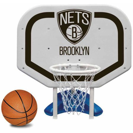 Poolmaster Brooklyn Nets NBA Pro Rebounder-Style Poolside Basketball