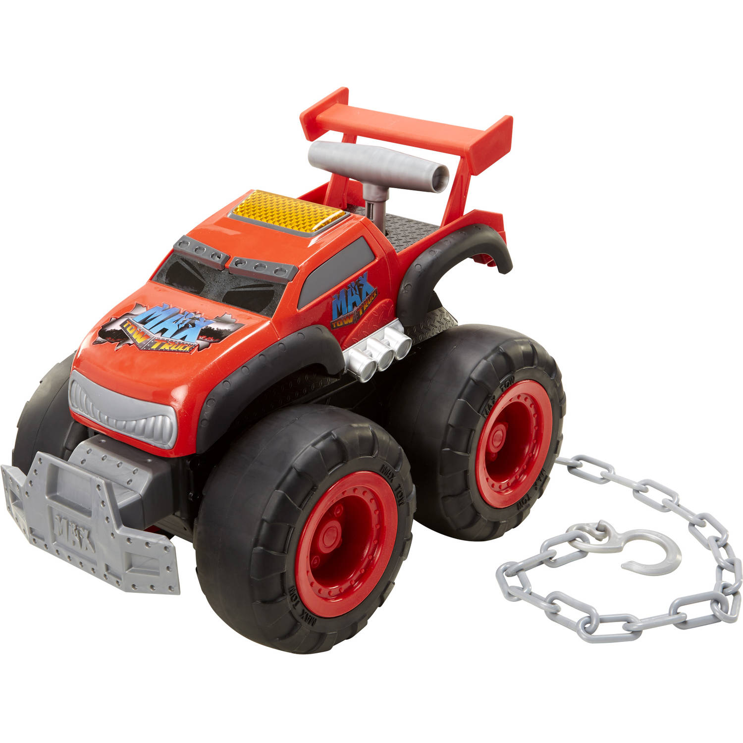 Max Tow Truck Turbo Speed, Red