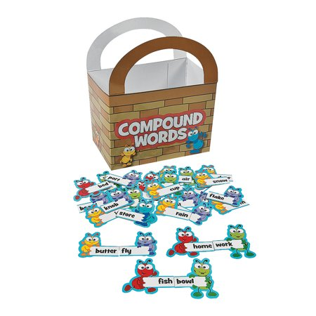 Compound Words Game (Fun Express - Ant Compound Word Matching Game - Educational - Teaching Aids - Language Arts - 49)