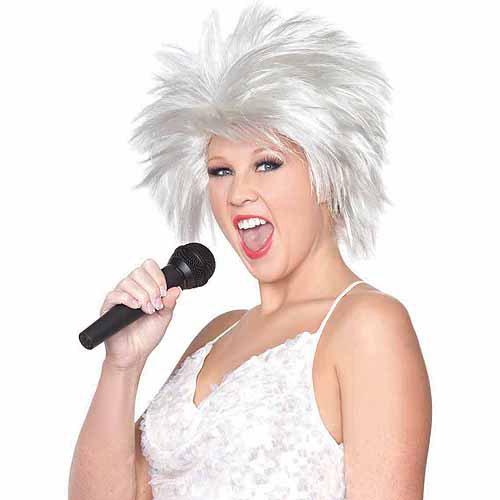 Rockstar Wig Halloween Accessory