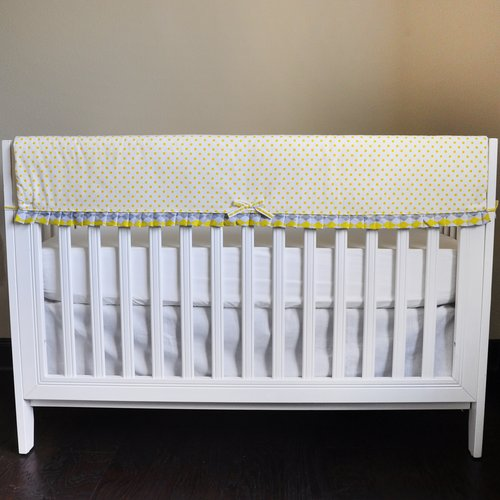 Argyle Giraffe Crib Rail Guard Cover