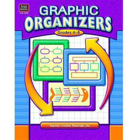Teacher Created Resources Graphic Organizers, 96 Pages, Multiple Grade Levels