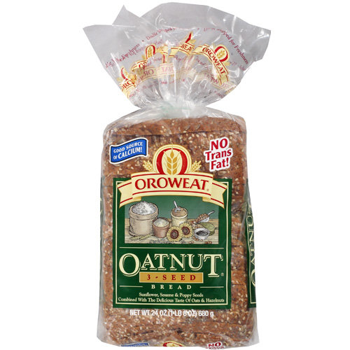 Oroweat Oatnut 3-Seed Bread, 24 oz