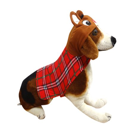 Clifford Big Red Dog Halloween Costumes (Rudolph Rudolph The Red Nosed Reindeer Dog Costume Hoodie Union)