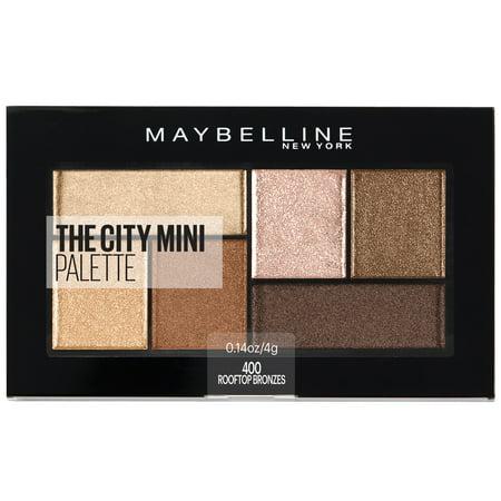 Maybelline City Mini Eyeshadow Palette 410 Rooftop Bronzes - 0.14oz