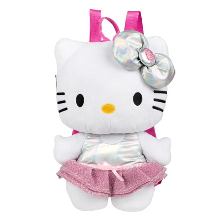 Plush Backpack - Hello Kitty - Purple Bow 10