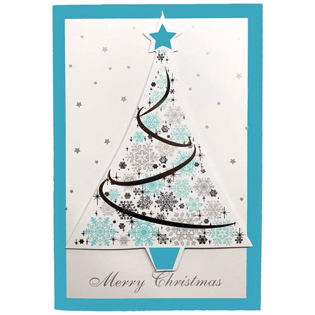 Set of 10 Handcrafted Christmas Holiday Cards by ALEF (Choose from a number of different styles) ()