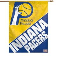 Indiana Pacers 27'' x 37'' Vintage Vertical Banner Flag