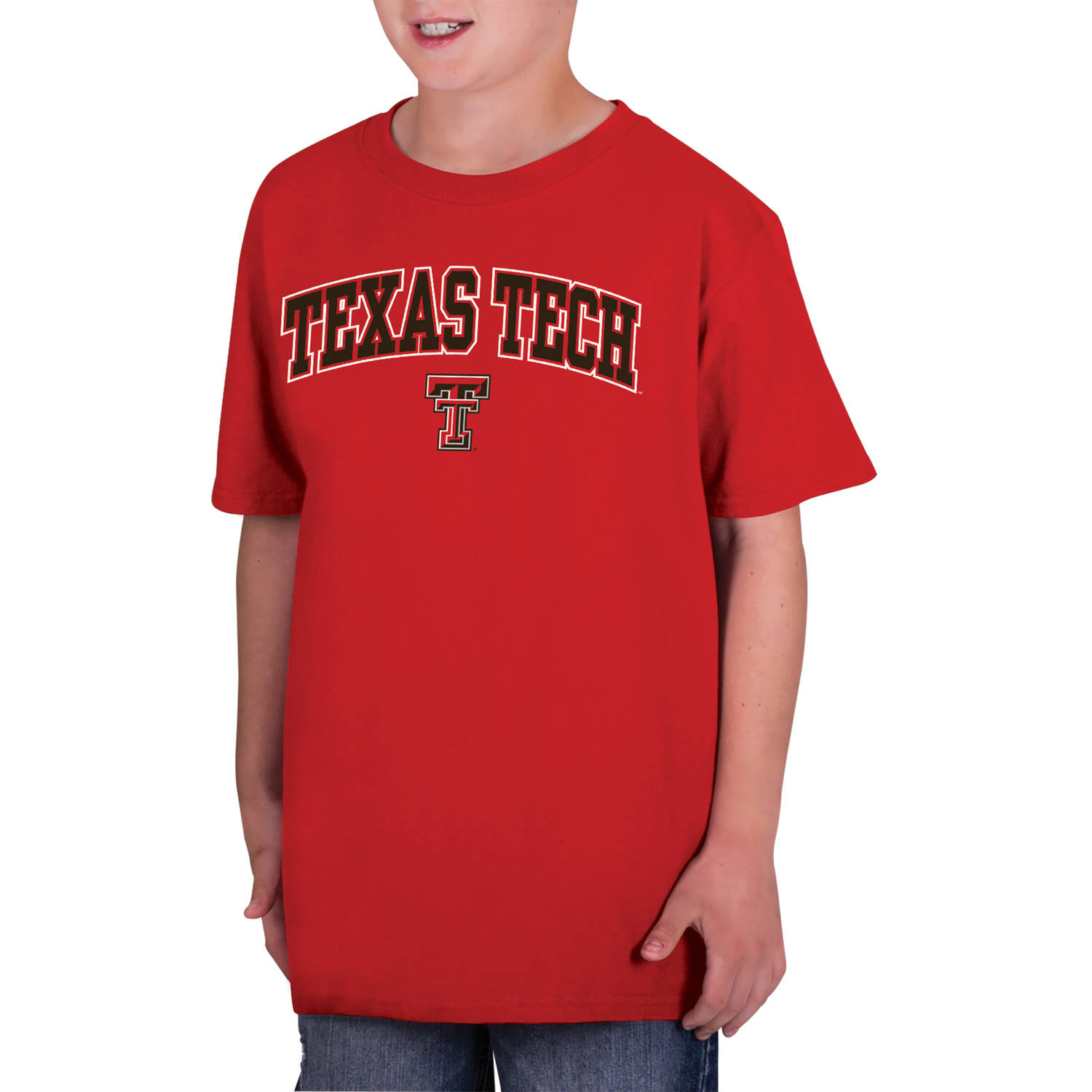 NCAA Texas Tech Red Raiders Boys Classic Cotton T-Shirt