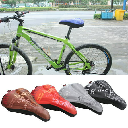 Miraculous Foam Padded Comfortable Saddle Cushion Mtb Road Bike Bicycle Machost Co Dining Chair Design Ideas Machostcouk