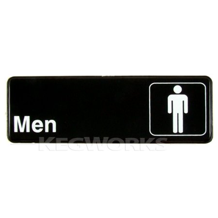 Mens Bathroom Door Sign - Classroom Door Signs