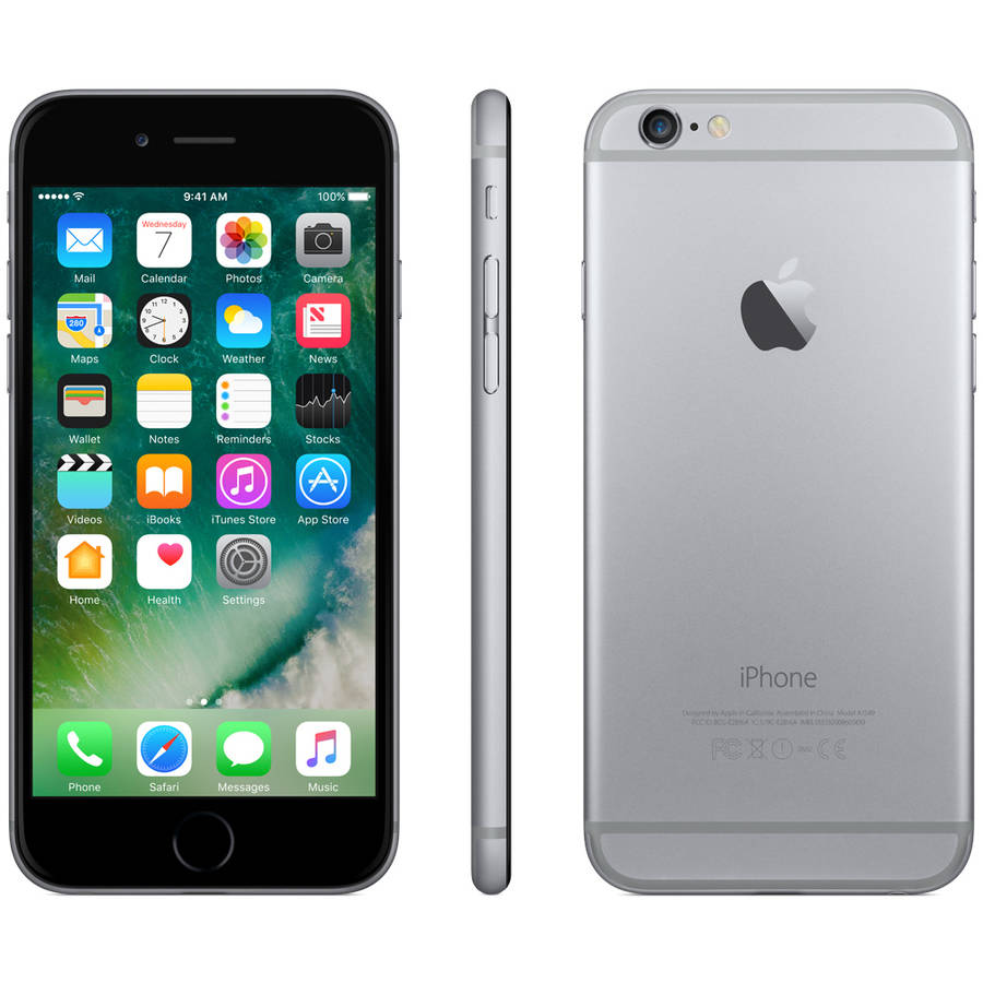 Apple iPhone 6 16GB Space Gray LTE Straight Talk, Refurbished