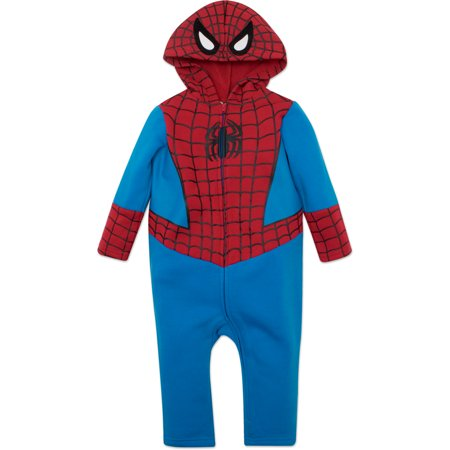 Spiderman Costume For Toddlers (Marvel Spiderman Toddler Costume Coverall with)