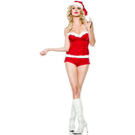 Sexy Adult Womens Costumes Christmas Holiday Mrs. Santa Clause Costume Theme Party Outfit](Mrs Santa Outfit)