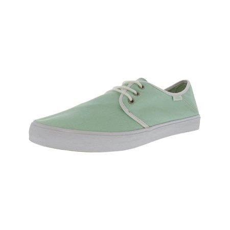 9ed7ea2226b02c Vans Women s Tazie Sf Gossamer Green   White Ankle-High Fabric Fashion  Sneaker - 10M