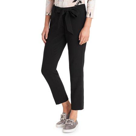 Bow Belt Skinny Trousers