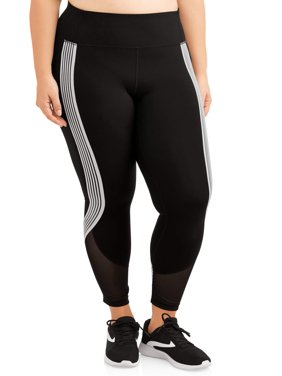 9ea481175d2 Product Image Women s Plus Size Active Stripe It Up Performance Crop Legging