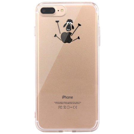c15c3a7dbb99 iPhone 7 Plus Case, iPhone 8 Plus Case Amusing Whimsical Design Clear TPU  Soft Case