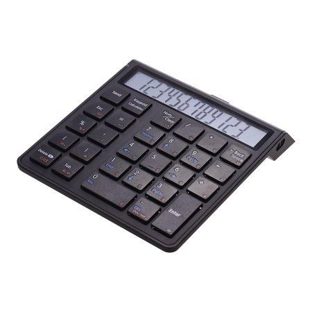 Portable 2-in-1 Wireless BT 28 Keys Rechargeable Smart