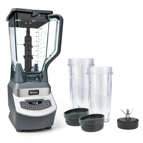 Ninja Professional Blender with Single Serve, BL660