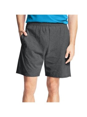 90563304042 8790 - 8990 Mens Jersey Short, Grey - 4XL