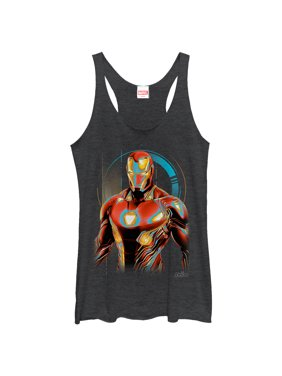 b1418c316c651 Product Image Marvel Women s Avengers  Infinity War Iron Man Future  Racerback Tank Top