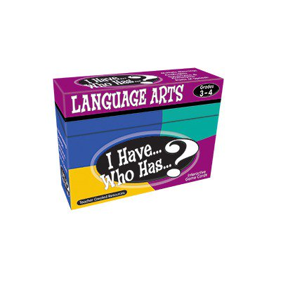 I Have Who Has Language Arts Games Scbtcr7816 6  Pack Of 6