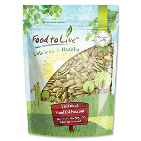 Food To Live Pepitas / Pumpkin Seeds (Raw, No Shell) (8 Ounces)](Roasted Pumpkin Seeds Halloween)