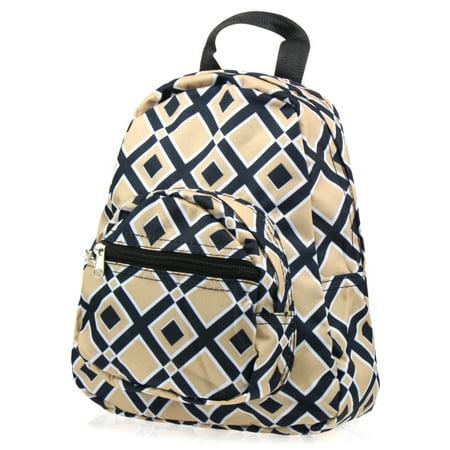 Zodaca Stylish Kids Small Travel Backpack Girls Boys Schoolbag Children's Bookbag Lunch Bag