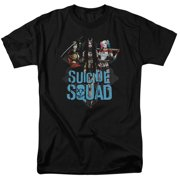 Suicide Squad Lovely Death Mens Short Sleeve Shirt