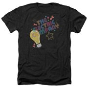 Electric Company Electric Light Mens Heather Shirt