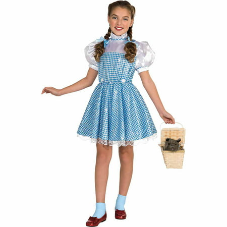 The Wizard of Oz Dorothy Child Halloween Costume - Dorothy Wizard Of Oz Costume Pattern