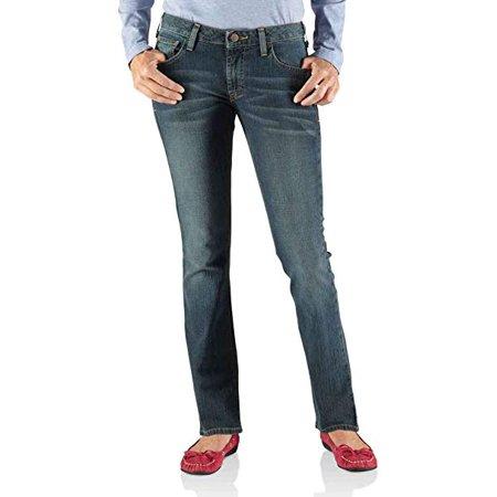Carhartt Womens Straight Fit Slim Straight Jean 100192