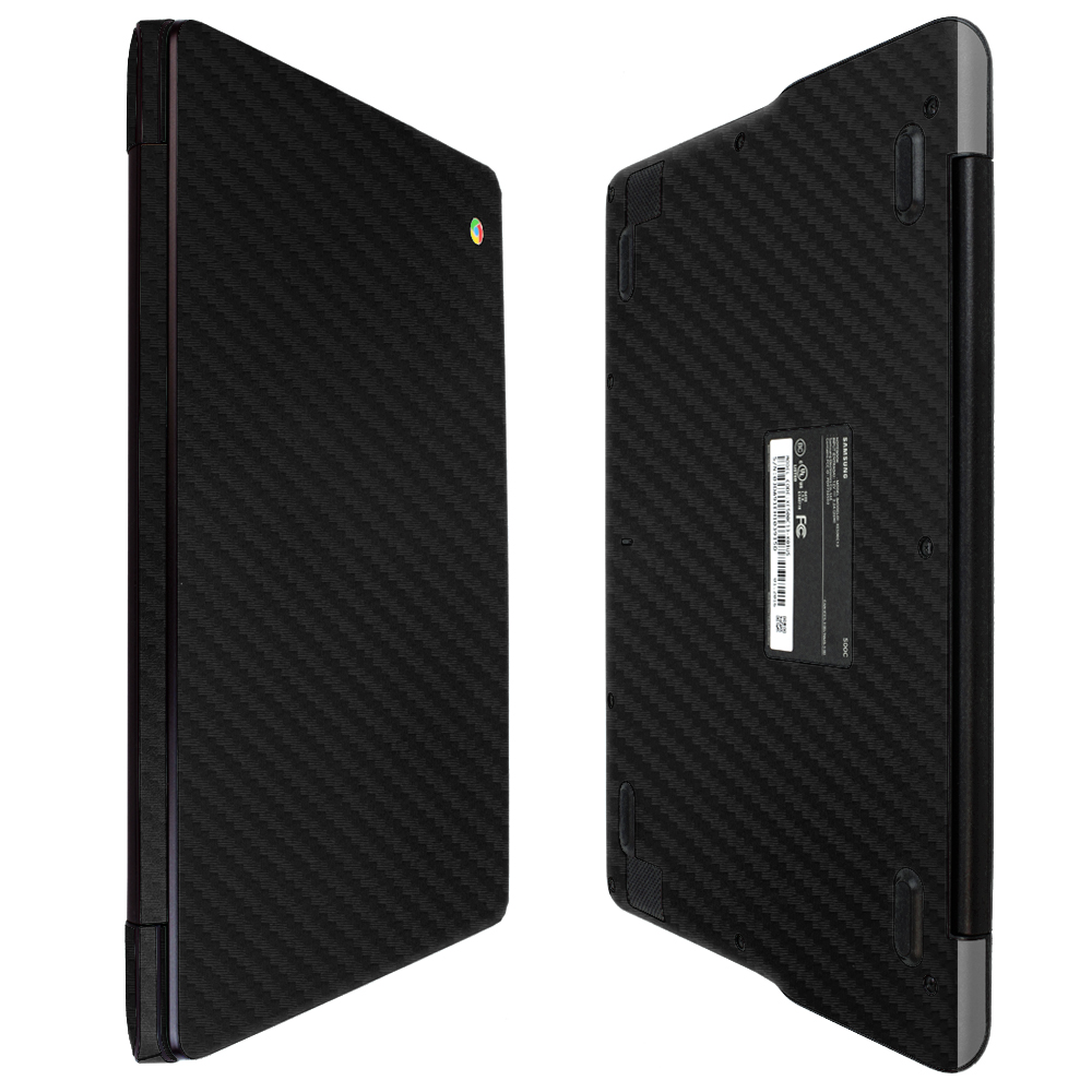 "Skinomi Carbon Fiber Skin Protector for Samsung Chromebook 3 11.6"""