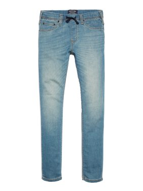 Signature by Levi Strauss & Co. Boys Skinny Pull On Jeans, Sizes 5-18 & Husky