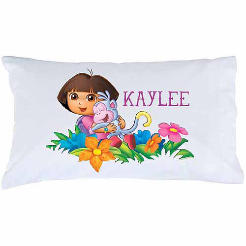 Personalized Dora the Explorer Adventure Pillowcase