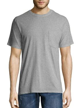 Hanes Men's Workwear Short Sleeve Pocket Tee (2-pack)