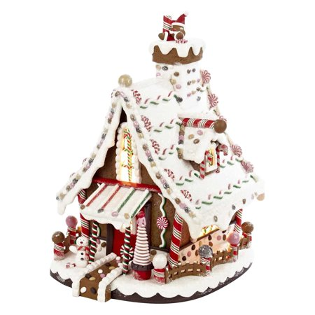 Kurt Adler 12 in. Lighted Christmas Gingerbread House ()