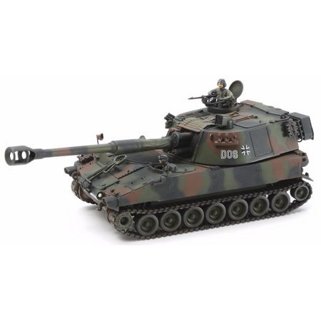 Tamiya 37022 1/35 German Bundeswehr M109A3G Tank (Bundeswehr Tank)