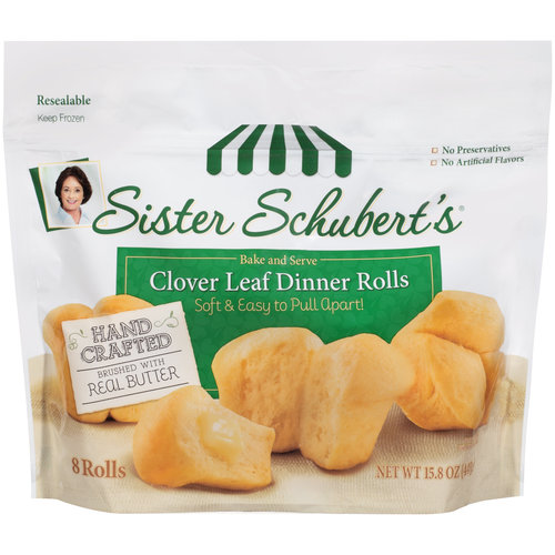Sister Schubert's Soft Dinner Rolls, 8 ct, 15.8oz
