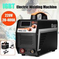 220V 400A MMA ARC Digital Stick Welder Electric Welding Machine DC IGBT Inverter