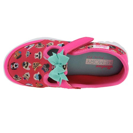 34335812bfc Skechers Go Walk Bow Wow Girls Sneakers - image 1 of 2 ...