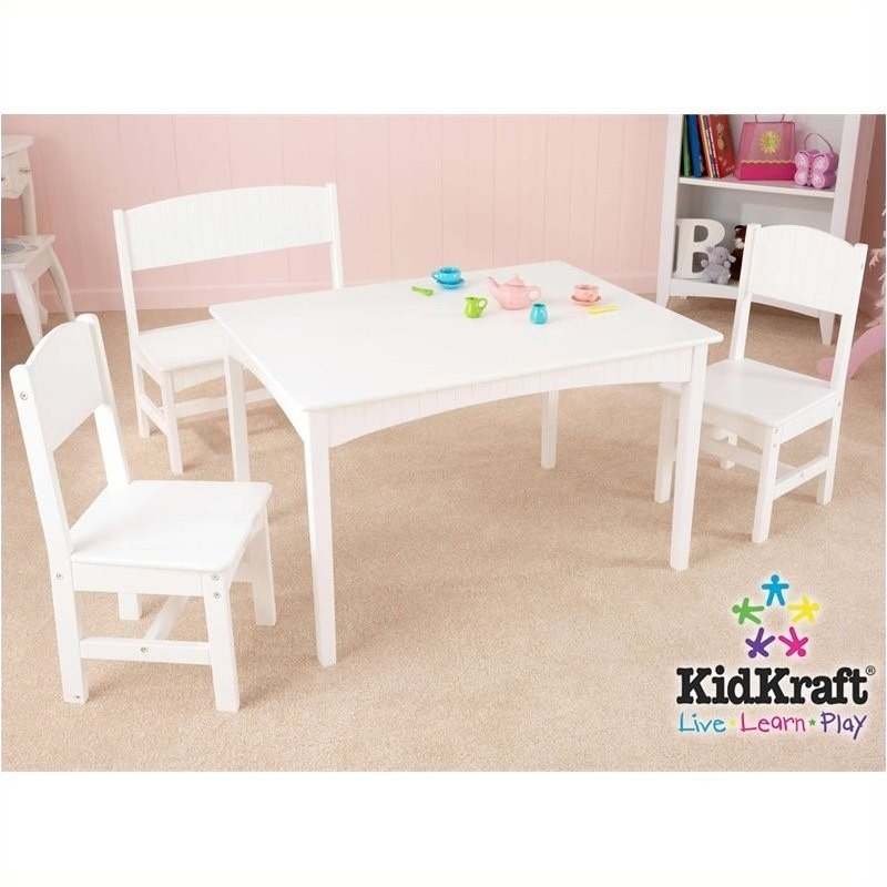 Pemberly Row Table with Bench and 2 Chair Set